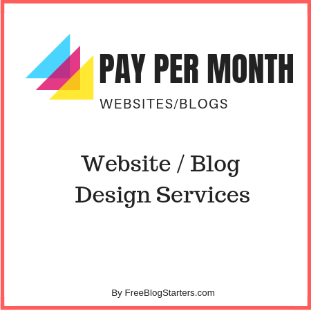 pay per month websites